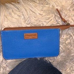 Blue Slim Wallet